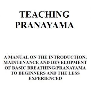 Teaching Pranayama Manual